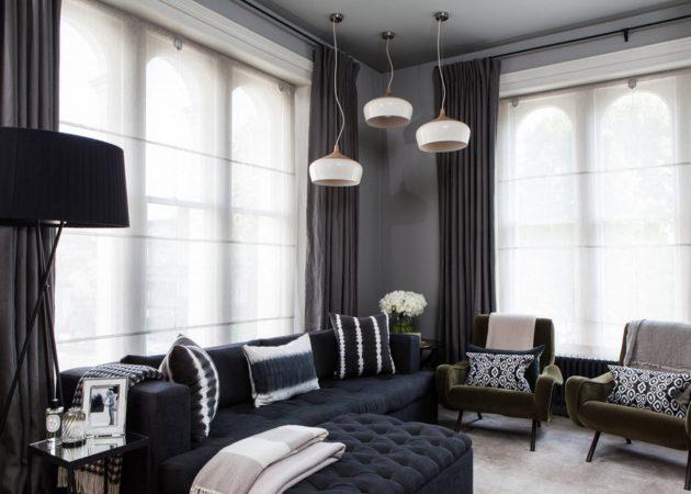 шторы в современном стиле оформление фото