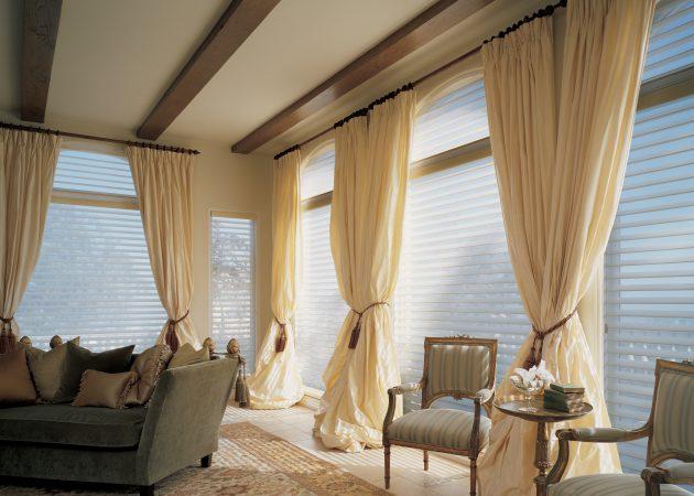 шторы в современном стиле варианты