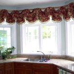шторы для кухни классика
