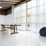 японские шторы интерьер идеи