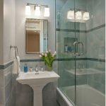стеклянная шторка для ванной идеи дизайн