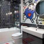 стеклянная шторка для ванной идеи дизайна