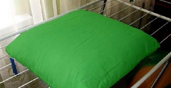 сушка бамбуковой подушки