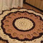 вязаные коврики декор фото