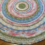 вязаные коврики дизайн