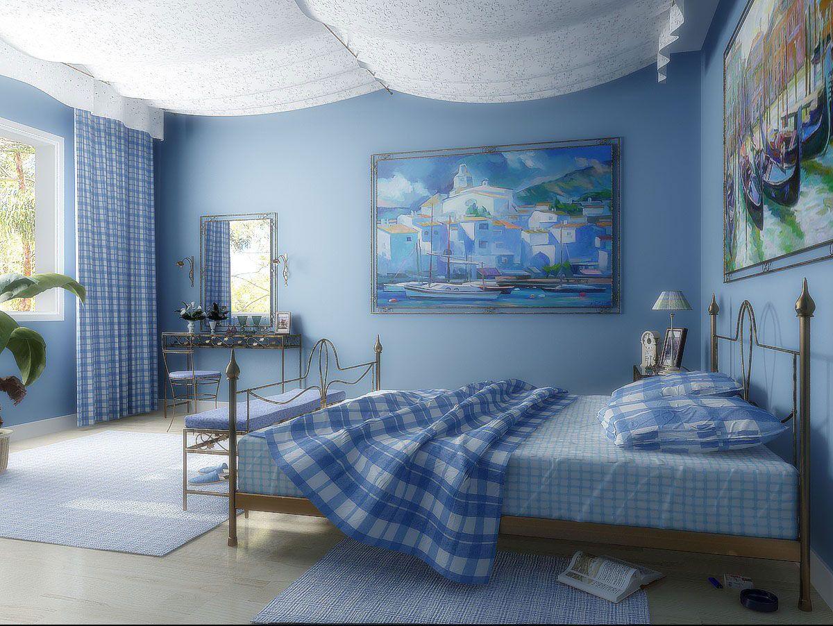 комплект из штор и покрывала для спальни оформление