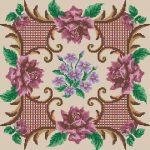 вышивка подушек крестиком фото схемы