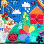 развивающий коврик для детей как сделать