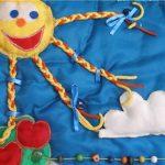 развивающий коврик для детей изготовление