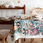 скатерть на стол для кухни идеи дизайна