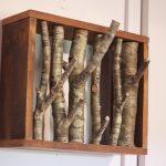 вешалка из дерева своими руками фото вариантов