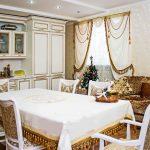 белые шторы в гостиной фото идеи