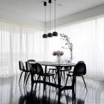 белые шторы в гостиной фото интерьер
