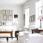 белые шторы в гостиной варианты идеи