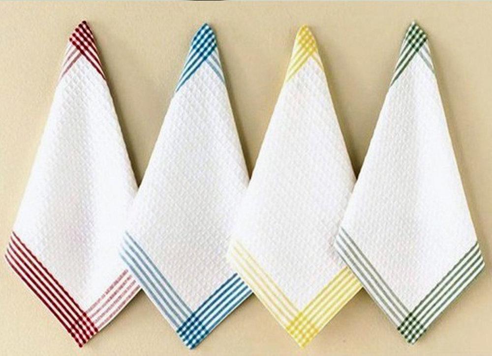 как эффективно отбелить кухонные полотенца дома