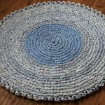 вязаные коврики крючком для дома