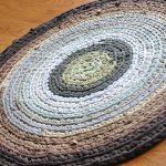 вязаные коврики крючком варианты фото