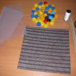 коврик из крышек своими руками фото оформления