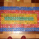 коврик из крышек варианты фото