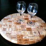 коврик из пробок дизайн