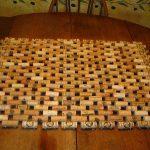 коврик из пробок фото вариантов