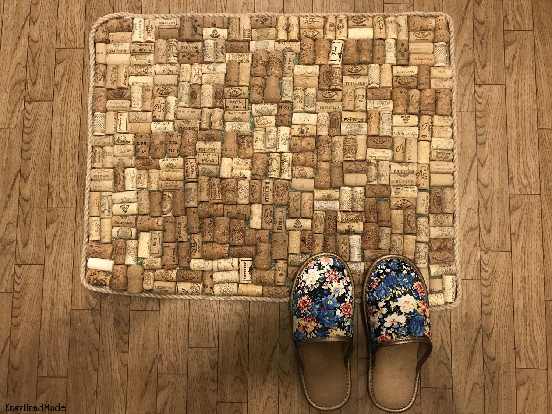 коврик из пробок идеи декор