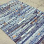 коврик из старых джинсов своими руками фото декор