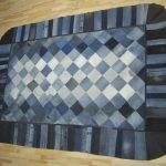 коврик из старых джинсов своими руками фото варианты