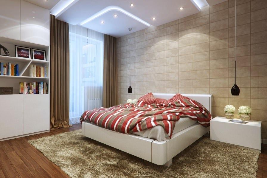 прикроватные классические коврики для спальни декор фото
