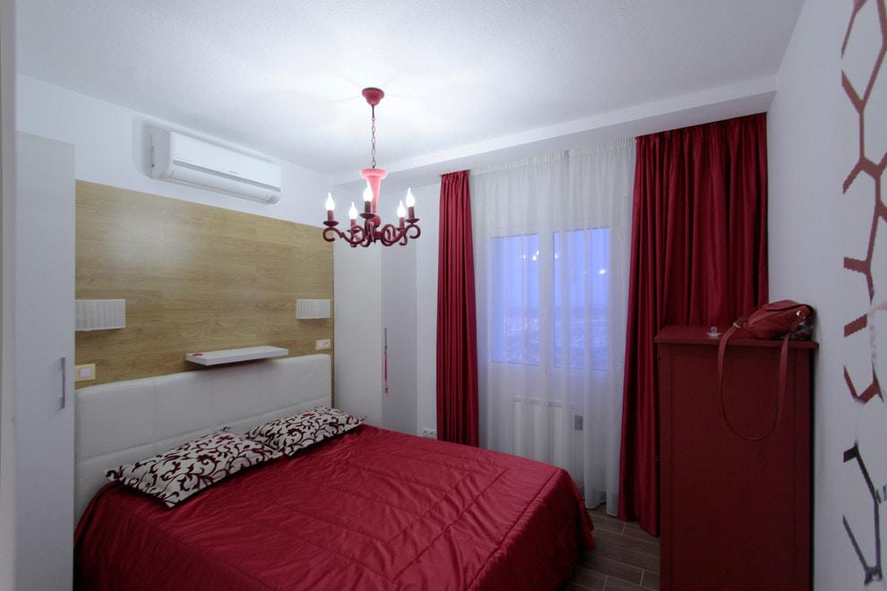 красные шторы обзор идеи
