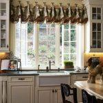 ламбрекены для кухни фото