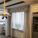 ламбрекены для кухни декор фото