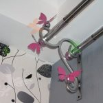 металлические настенные карнизы дизайн идеи