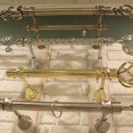металлические карнизы для штор обзор фото
