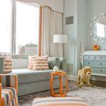 оранжевые шторы фото виды