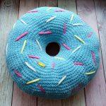 подушка пончик фото оформления