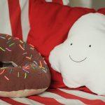 подушка пончик идеи видов