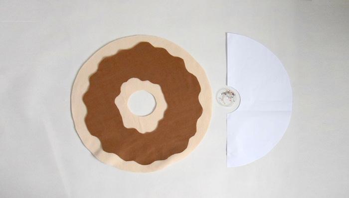 подушка пончик своими руками декор идеи