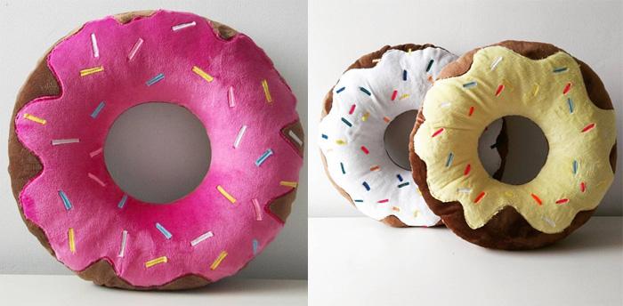 подушка пончик своими руками фото оформления
