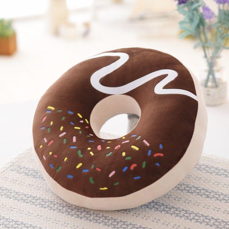 подушка пончик своими руками