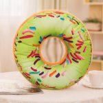подушка пончик виды дизайна
