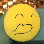 подушка смайлик фото декора