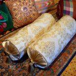 подушка валик дизайн идеи