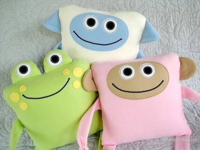 подушки игрушки фото