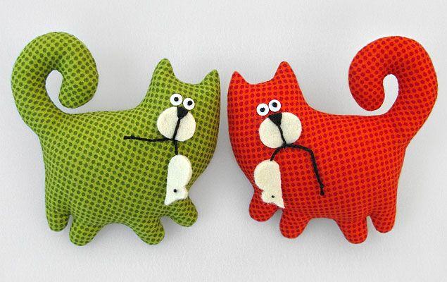 подушки игрушки идеи декор