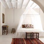 прикроватные классические коврики для спальни в полоску