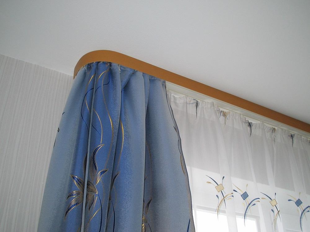потолочный карниз шторы