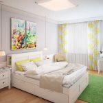 прикроватные классические коврики для спальни идеи обзор