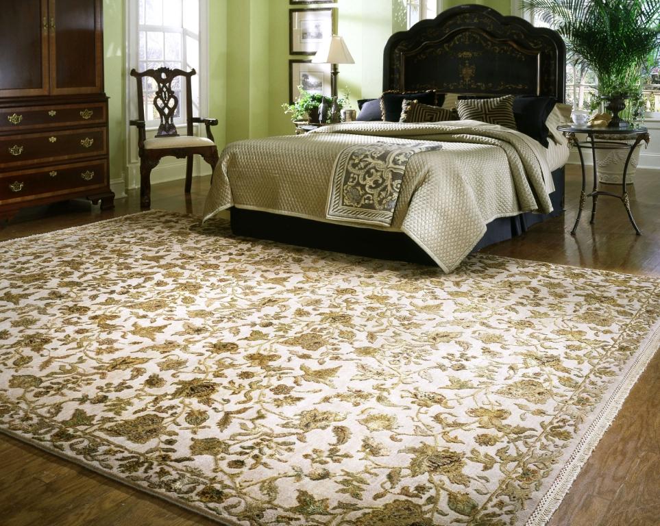 прикроватные классические коврики для спальни идеи вариантов