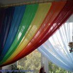 радужные шторы идеи интерьер